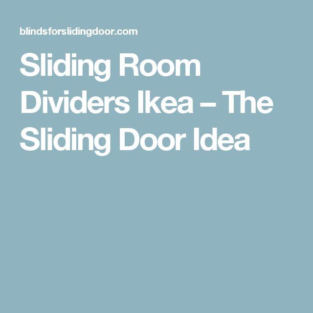 Sliding Room Dividers Ikea – The Sliding Door Idea