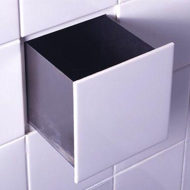 Una idea de lo más original. ¿Os imagináis una pared de multiples cajones invisibles para guardar casi de todo...?
