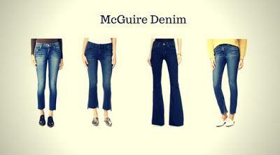 Top 12 Marcas de Calças Jeans Femininas - Calças Jeans Femininas da McGuire Denim