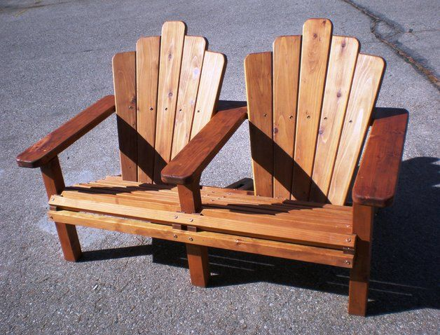 Double Rocking Adirondack Chair Plans Woodworking