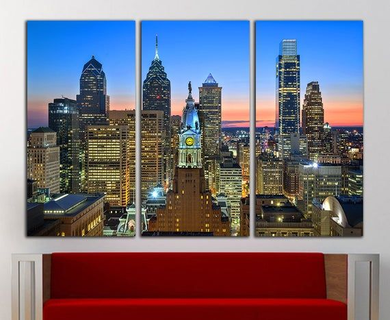 Philadelphia Wall Art Philadelphia Canvas Philadelphia Wall Etsy Philadelphia Wall Art Large Wall Art Vintage Art Prints