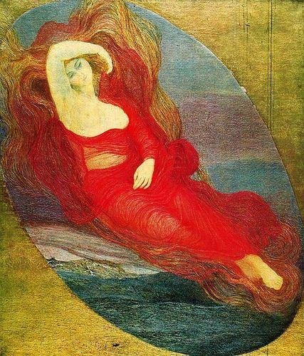Giovanni Segantini- Goddess of Love