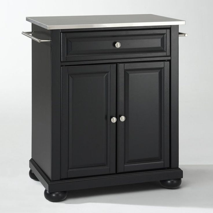 Home Styles Monarch Hidden Leg Kitchen Island