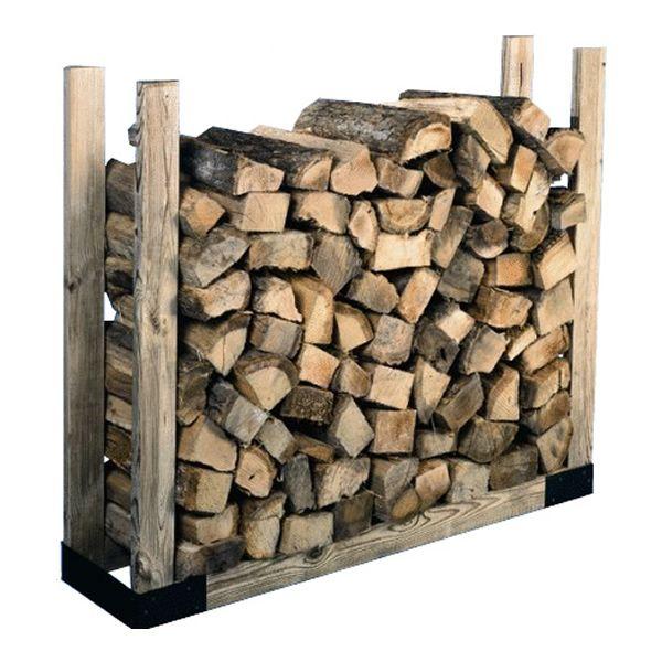 firewood rack bracket kit firewood racks and carriers firewood log - Firewood Racks