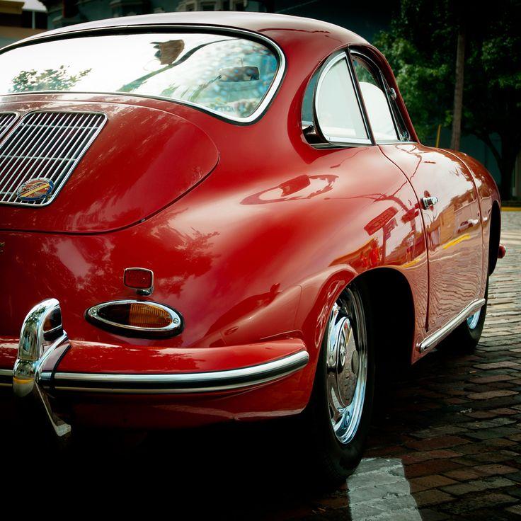 a classic car...