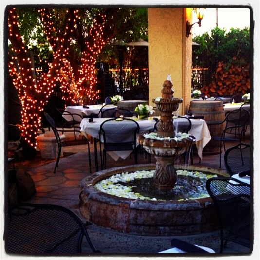 CAFFE BOA has one of the nicest Patio dining in Ahwatukee.  Bon appétit! phoenixvacationcondos.com