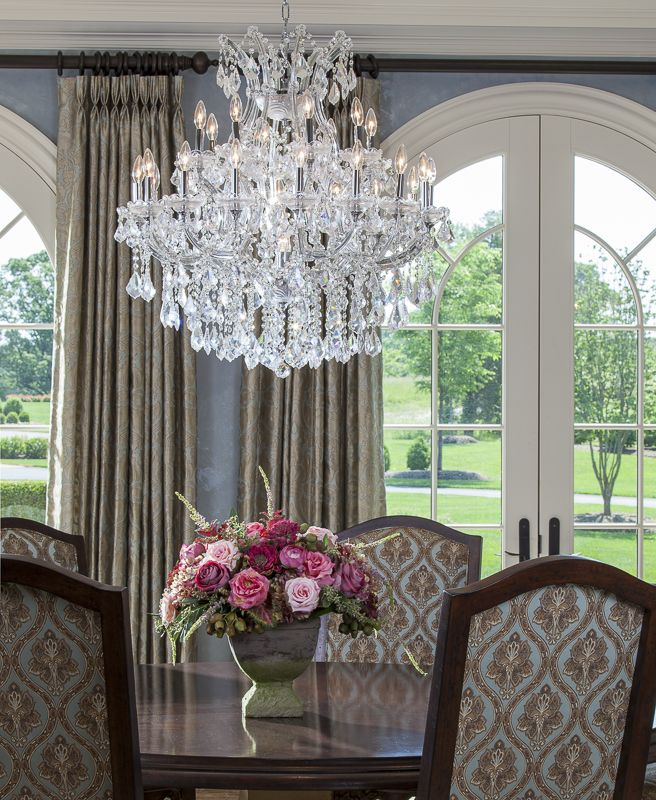 131 best images about lauren nicole designs dining room for Formal dining room chandelier