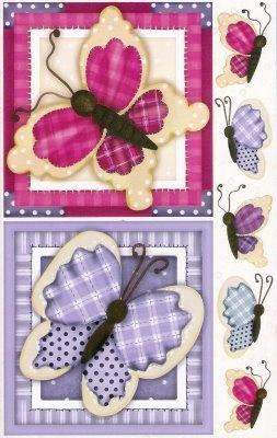 papel decoupage borboleta