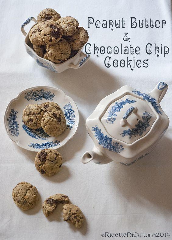 Ricette di Cultura: Peanut butter & chocolate chip Cookies