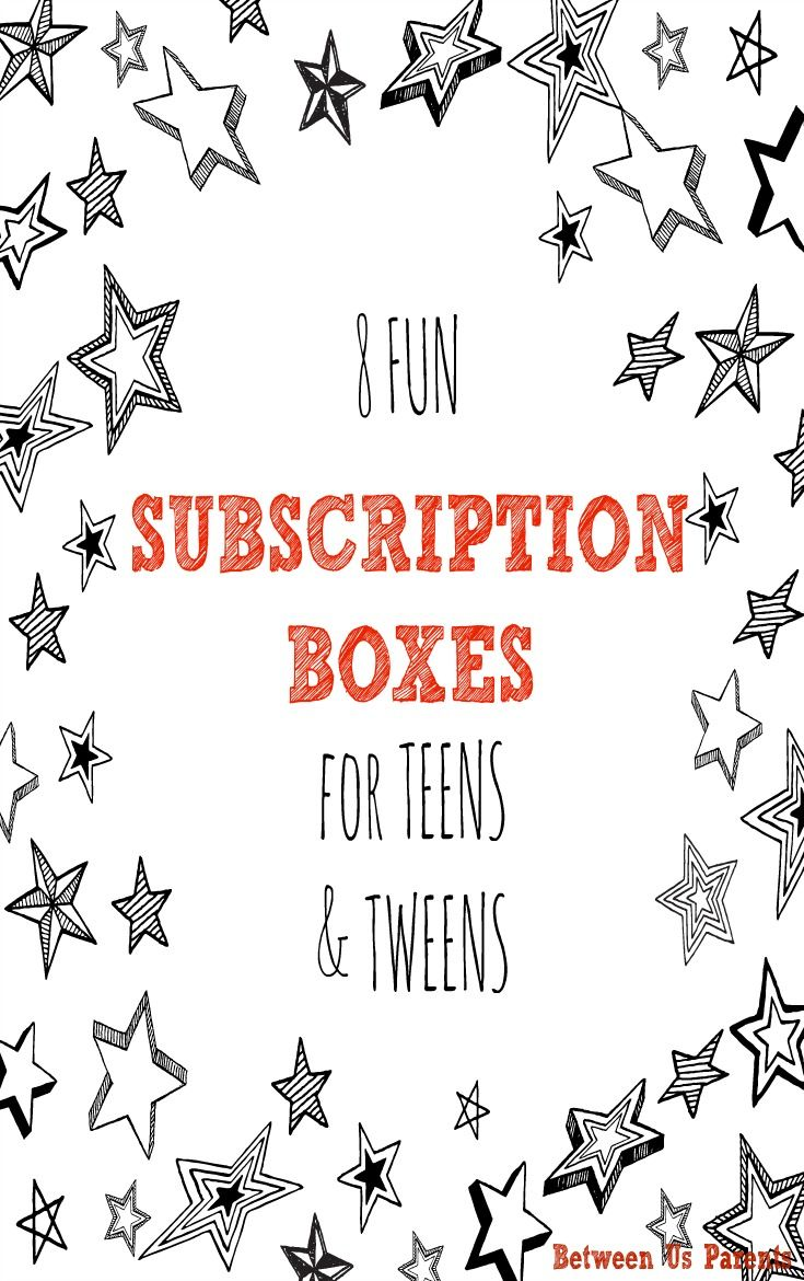 between parents subscription boxes teens