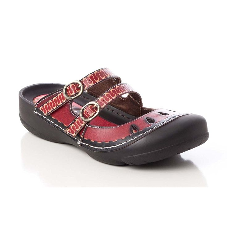 Corkys Women's Boulder Shoe 6 B(M) US Red ** For more information, visit image link.