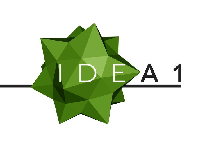Idea1 logo designed by Lee Mason of Free Thinking Design