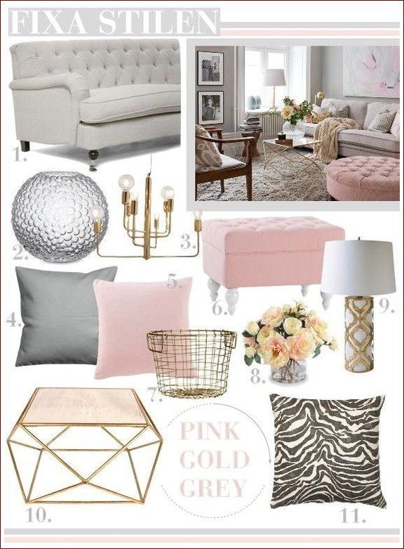 Grey Sofa With Dusky Pink Luxury Living Room Pink Living Room