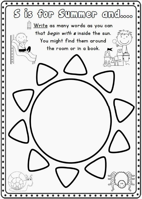 Preschool Packets Pinterest Summer All Kids Networkpla S For Ideas