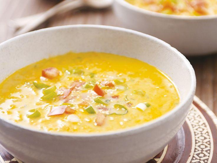 Kichererbsensuppe auf marokkanische Art - smarter - Zeit: 30 Min. | eatsmarter.de Kichererbsen schmecken auch als Suppe.