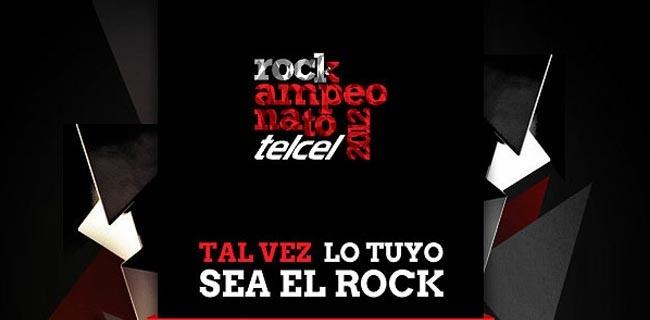Abren la convicatoria para Rockampeonato Telcel 2012