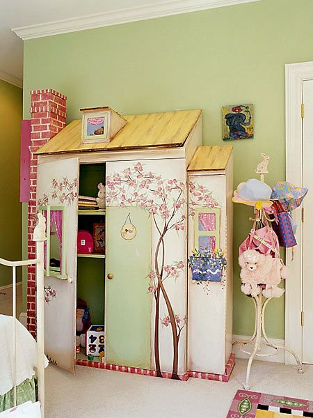 Armario infantil 4 kids pinterest kids rooms wendy house and room - Armarios de habitacion ...