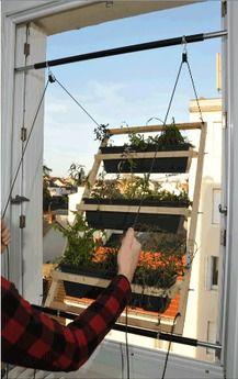 briljante uitvinding: een tuin vanuit je raam, van Barreau & Charbonnet uit Parijs