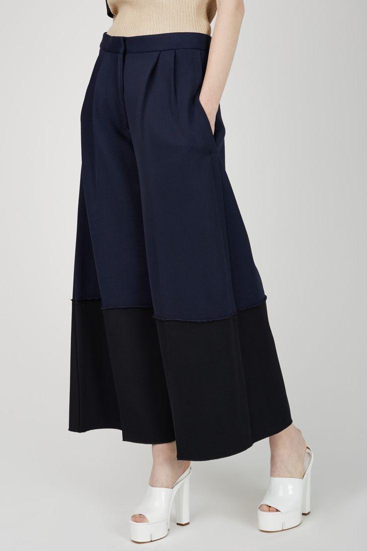 Calvin Klein Collection - Coey Wide-Leg Pants