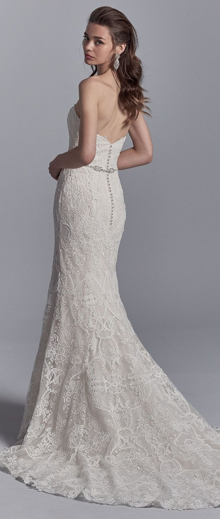 Graham by Sottero and Midgley lined with shapewear for a figure-flattering fit xoxo