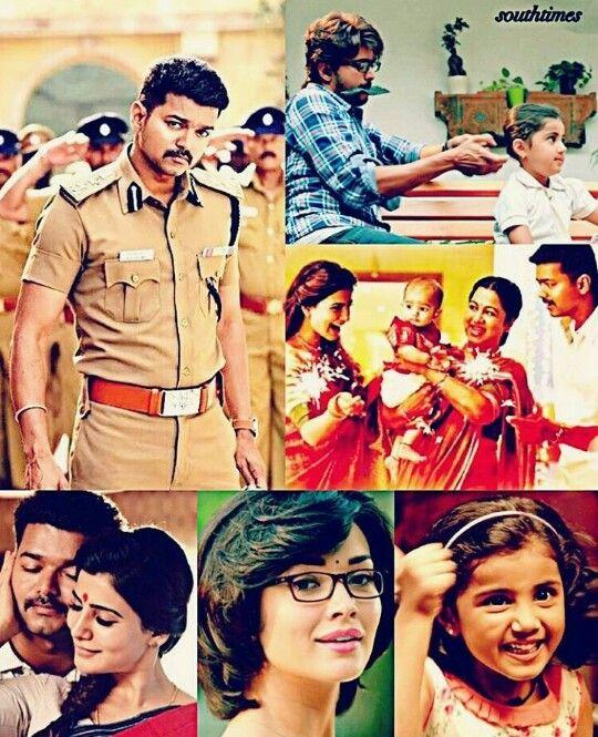 """The word #Love has a lot of meaning"" shows #Theri   #Vijay #Samantha #Nainika #AmyJackson"