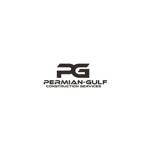 Permian-Gulf Construction Services - Quick and Easy but creative logo solution for Demolition Construction Co.