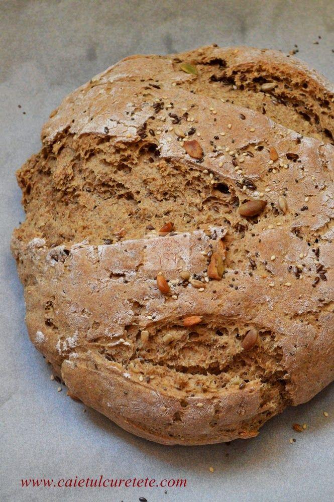 paine de secara cu seminte