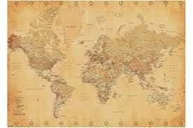 old world map poster - Google Search