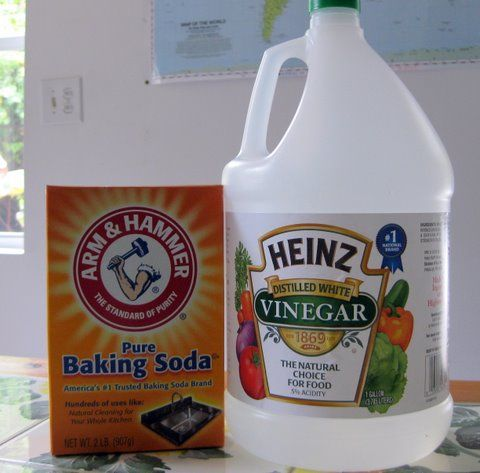 how to clean a car battery with baking soda