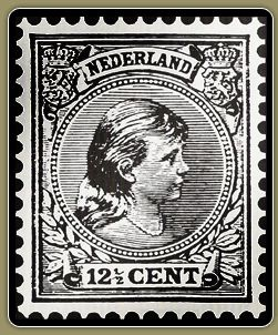 Old Dutch stamp
