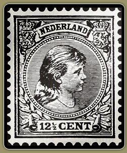 Old Dutch stamp