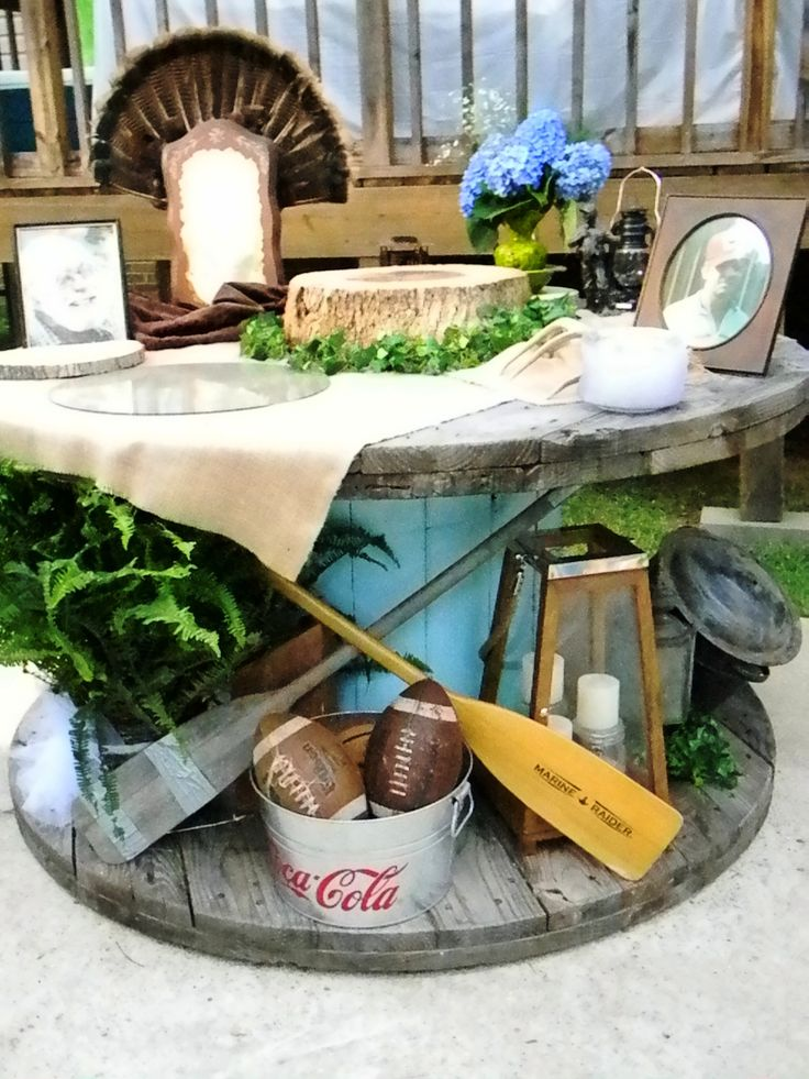 grooms table for my nephew
