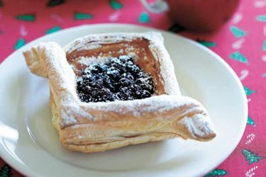 Christmas mince pastries