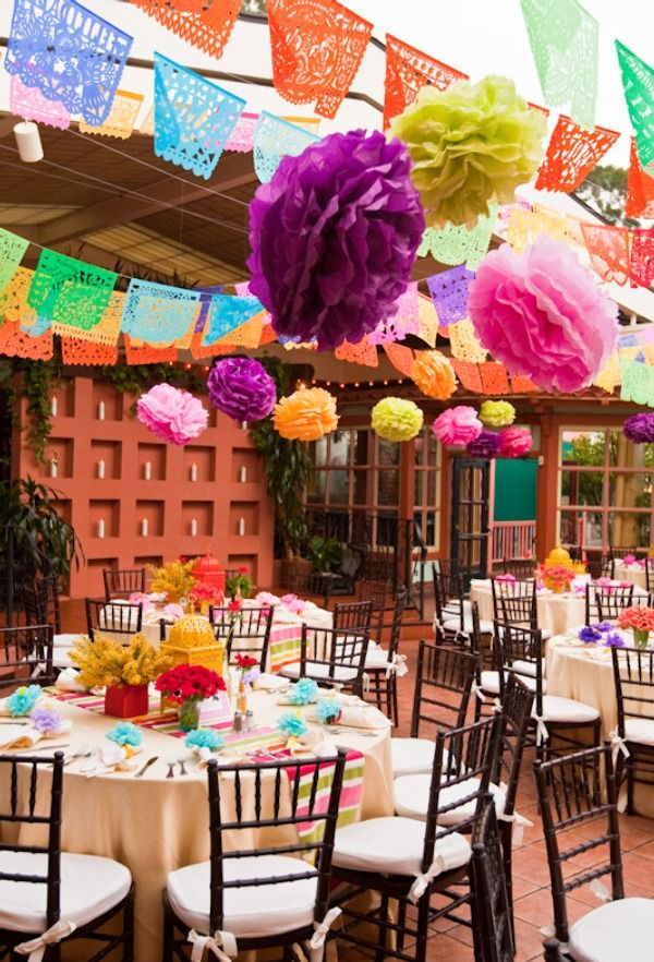 Wedding Rehearsal Fiesta - bright, relaxed, & fun.