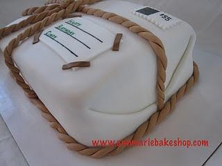 Retirement Cake for USPS employee