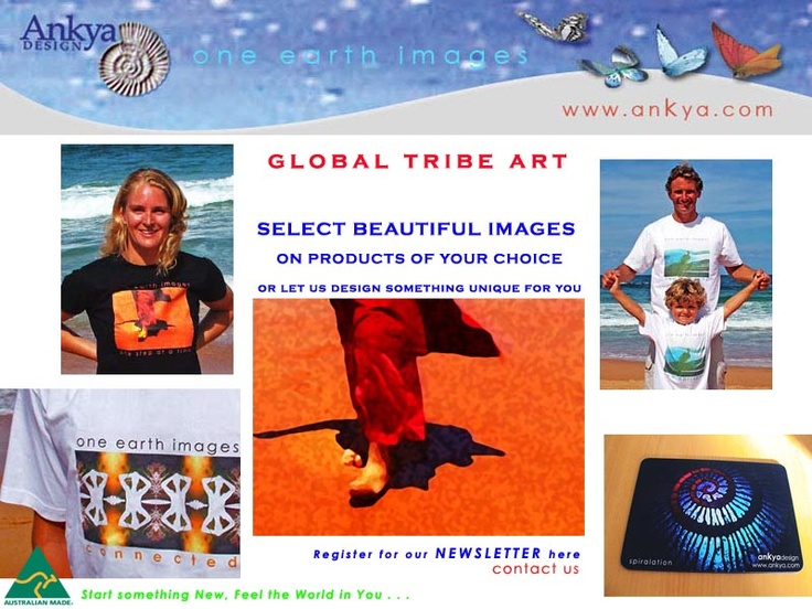 One Earth Images on a range of products for a sustainable life...    http://www.cafepress.com/ankya