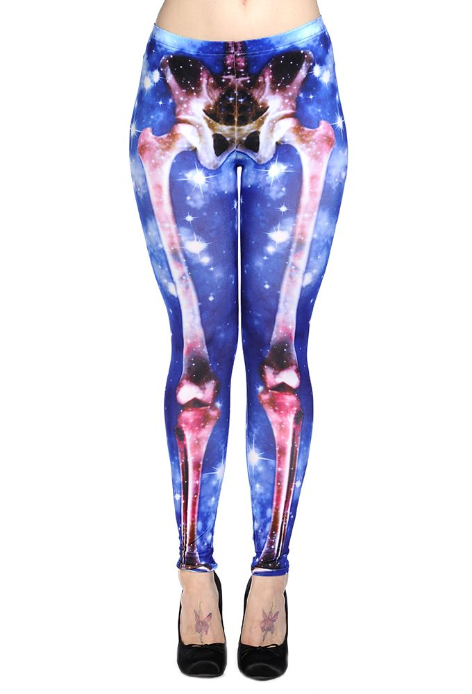 Cosmic X-ray leggings by Banned, alternative clothing.