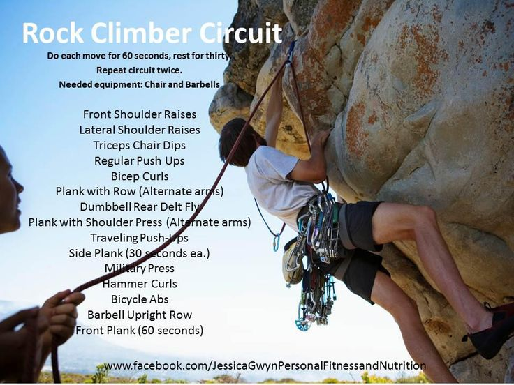 Rock Climbing Workout: J.Gwyn Fitness