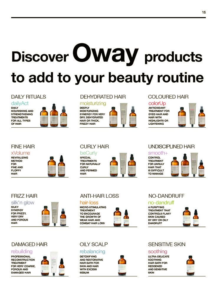 #oway products to add to your #beautyroutine