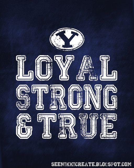 Loyal, Strong & True . . . enough said