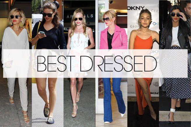 The 7 best dressed celebs of the last 7 days: http://on.elle.com/1m4nOKS