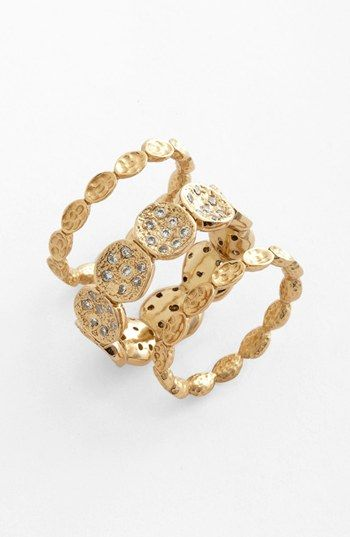 Melinda Maria 'Romeo' Stackable Rings (Set of 3) (Nordstrom Exclusive) available at #Nordstrom