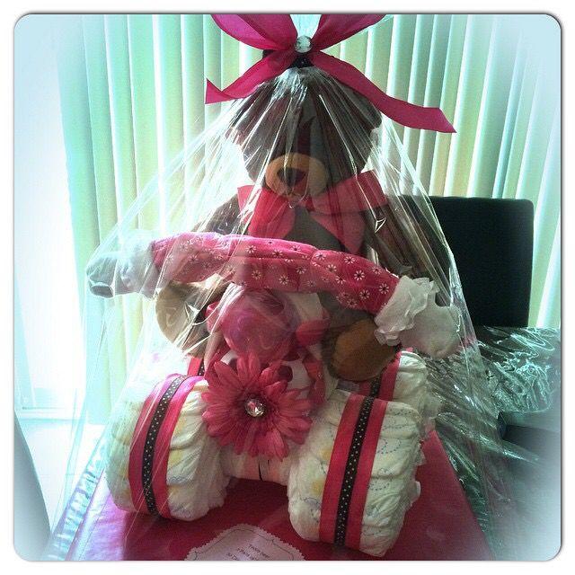 Diaper cake ATV #madewithlovebyjen