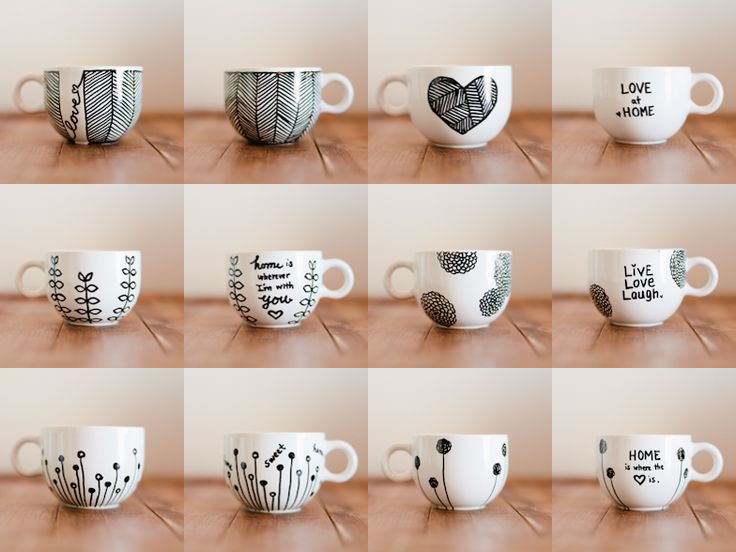 The Sharpie mug - tried and tested method! Perfect Valentine's or any occasion gift! USE THIS ONE!!!