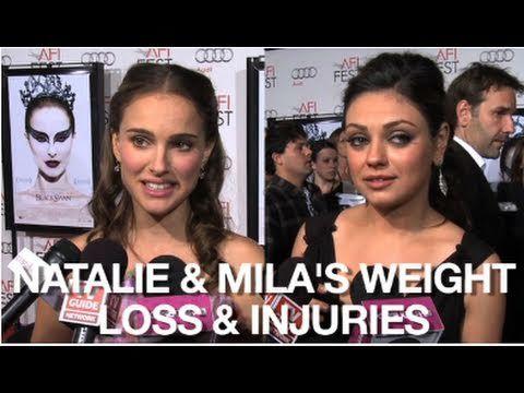 Natalie Portman & Mila Kunis in Black Swan: Weight Loss & Injuries