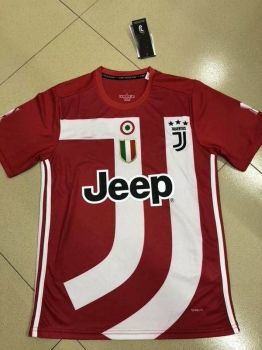 f63a1b4c0fb 2018-19 Cheap Jersey Juventus Red Replica Soccer Shirt  DFC155 ...