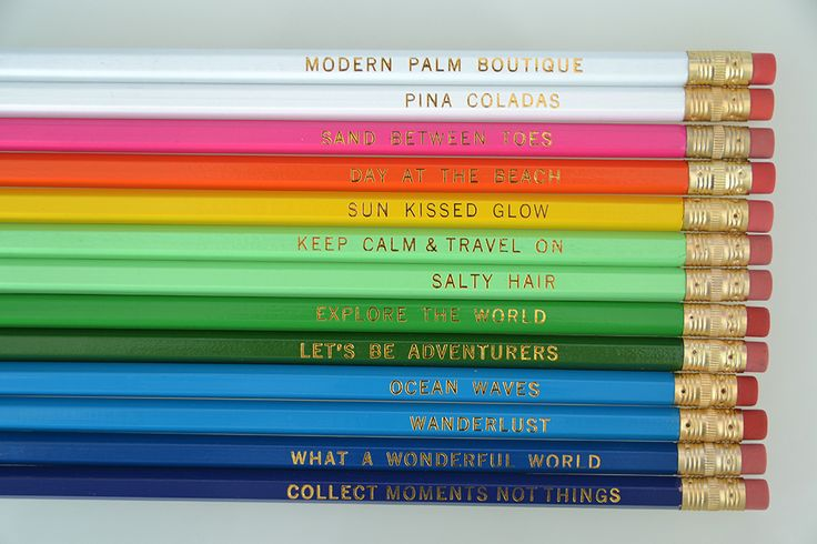 Must-Have: Travel & Beach-Inspired Pencil Sets | Pura Vida Bracelets
