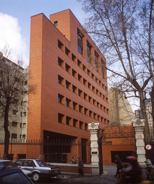 Rafael Moneo, Bankinter Madrid, Spain, 1977