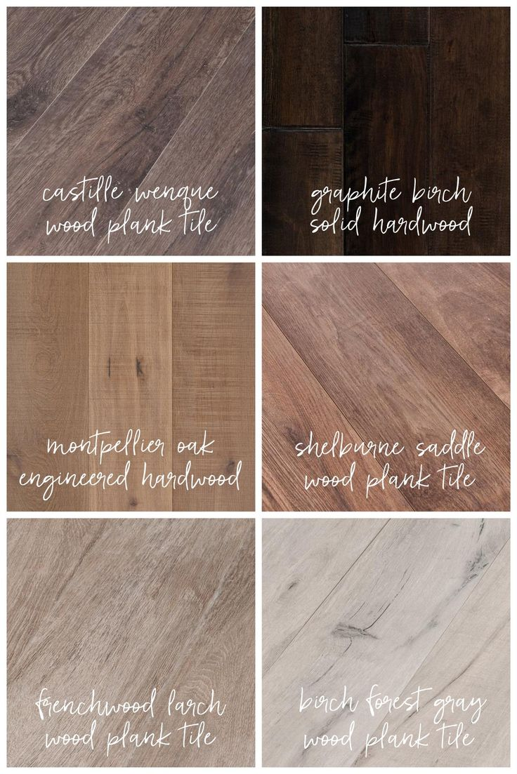 My Top 6 Flooring Choices from @flooranddecor! 4 Wood Plank Tile Options + 2 Hardwood Options... So many beautiful options to choose from! Stay tuned to see which flooring I choose for our new home!  #flooranddecor #ad