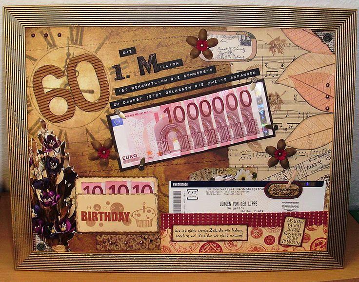 Die besten 25 60 geburtstag geschenk ideen auf pinterest for Ideen 50 geburtstag mama